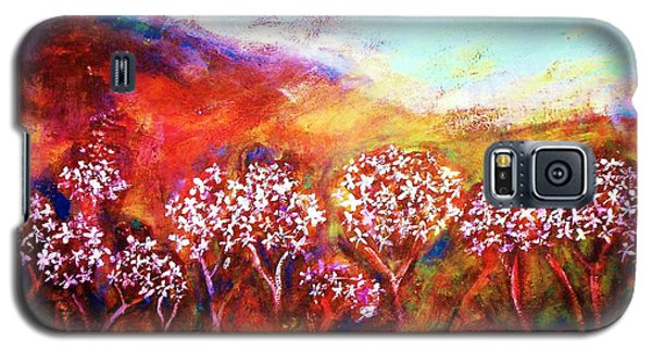 Galaxy S5 Case featuring the painting Promise by Winsome Gunning