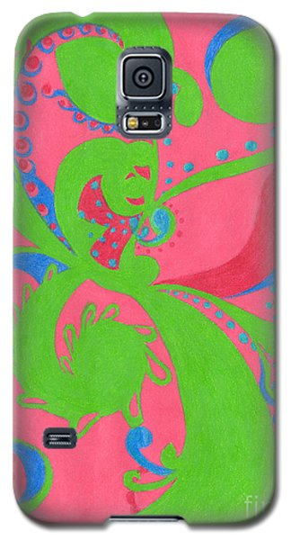 Galaxy S5 Case featuring the drawing Prosperity by Kim Sy Ok