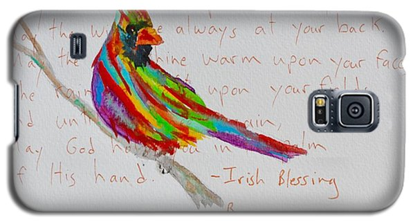 Proud Cardinal With Blessing Galaxy S5 Case