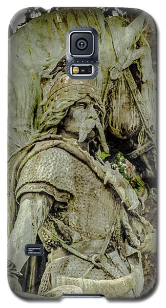 Paris, France - Proud Warrior And The Pigeon Galaxy S5 Case