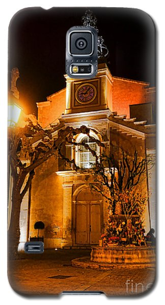 Galaxy S5 Case featuring the photograph Provencal Night by Olivier Le Queinec