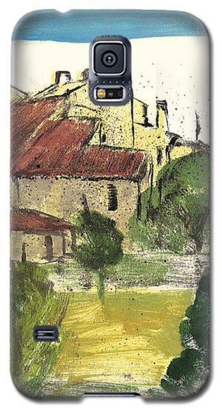 Provence Landscape Sainte Marguerite Galaxy S5 Case by Martin Stankewitz
