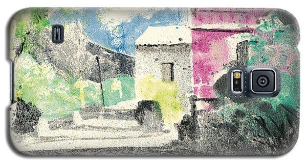 Provence Landscape Village Cucuron Galaxy S5 Case by Martin Stankewitz