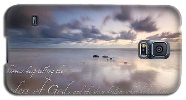 Psalm 19 1 Galaxy S5 Case