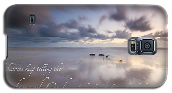 Psalm 19 1 Galaxy S5 Case