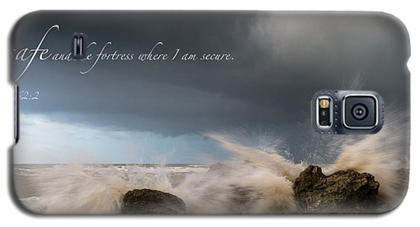 Psalm 62 2 Galaxy S5 Case