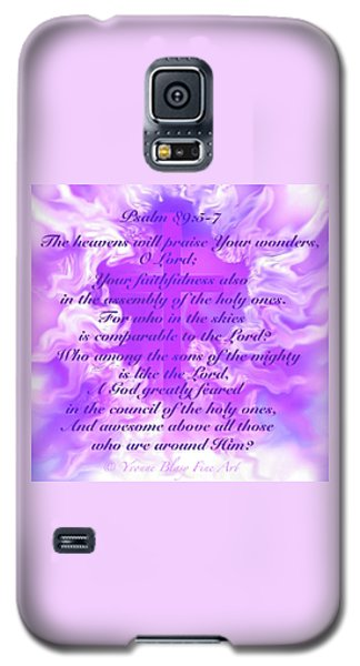 Psalm Eighty Nine Selected Verses Galaxy S5 Case