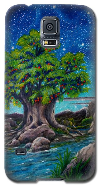 Galaxy S5 Case featuring the painting Psalm One by Matt Konar