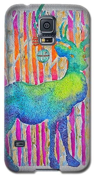 Psychedeer Galaxy S5 Case by Li Newton