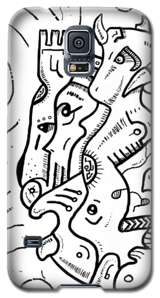 Psychedelic Animals Galaxy S5 Case