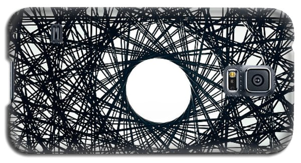 Psychedelic Concentric Circle Galaxy S5 Case