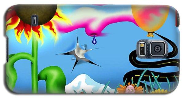 Psychedelic Dreamscape I Galaxy S5 Case