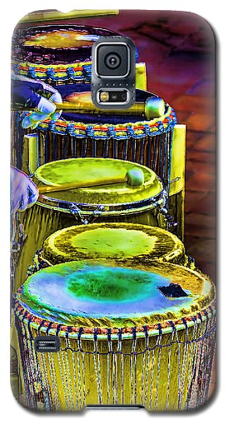 Psychedelic Drums Galaxy S5 Case