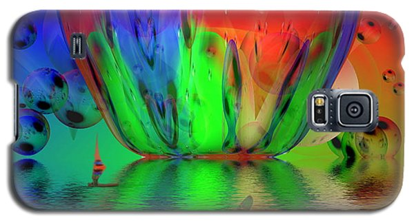 Galaxy S5 Case featuring the photograph Psychedelic Flight by Joyce Dickens