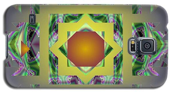 Psychedelic Mandala 002 A Galaxy S5 Case