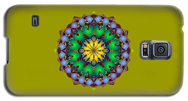 Psychedelic Mandala 003 A Galaxy S5 Case