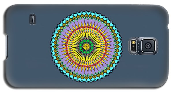 Psychedelic Mandala 005 A Galaxy S5 Case