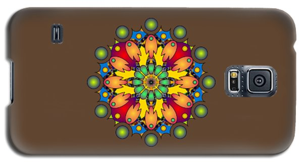 Psychedelic Mandala 009 A Galaxy S5 Case