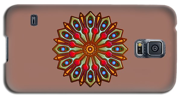 Psychedelic Mandala 012 A Galaxy S5 Case