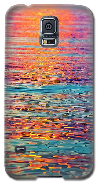 Psychedelic Sunset Galaxy S5 Case