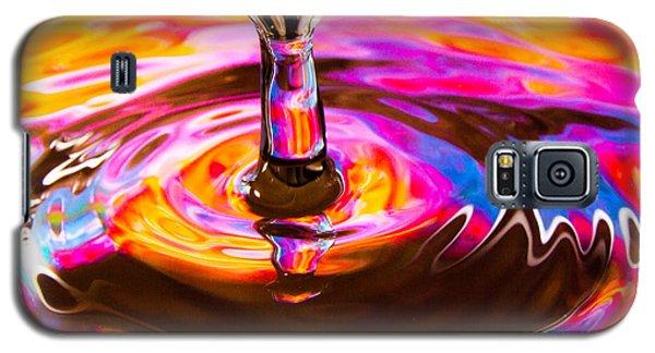Psychedelic Water Drop Galaxy S5 Case
