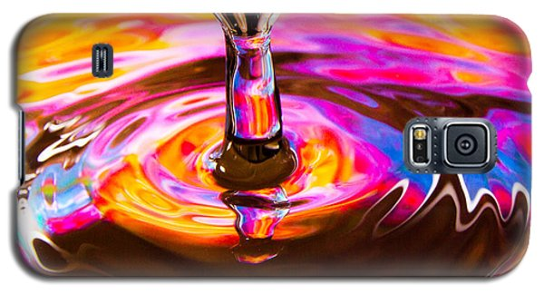 Psychedelic Water Drop Galaxy S5 Case