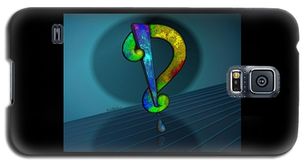 Psychedelic Interrobang Galaxy S5 Case