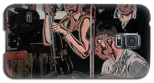 Pub Scene Three Galaxy S5 Case by Dave Luebbert
