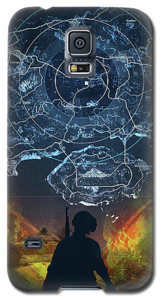 Pubg Battlegrounds Galaxy S5 Case
