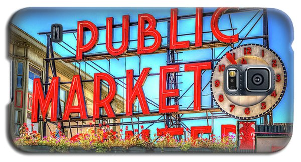 Galaxy S5 Case featuring the photograph Public Market At Noon by Spencer McDonald