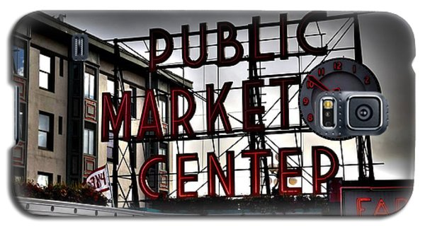 Galaxy S5 Case featuring the photograph Public Market Center by Janice Spivey