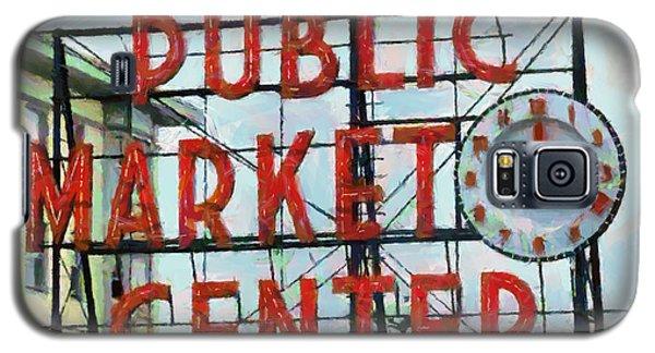 Public Market Center Galaxy S5 Case by Lynne Jenkins
