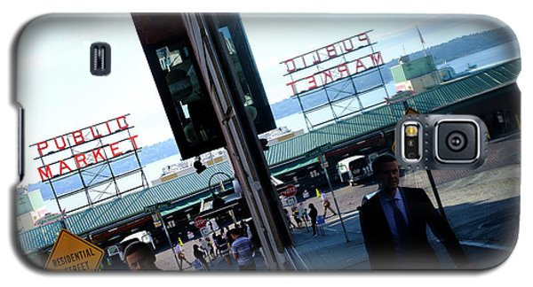 Public Market In Seattle Washington Galaxy S5 Case