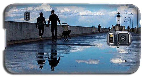 Galaxy S5 Case featuring the photograph Puddle-licious by Mary Amerman