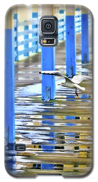 Galaxy S5 Case featuring the photograph Puddles by Diana Angstadt