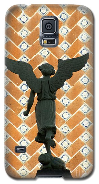 Galaxy S5 Case featuring the photograph Puebla Angel Mexico by John  Mitchell