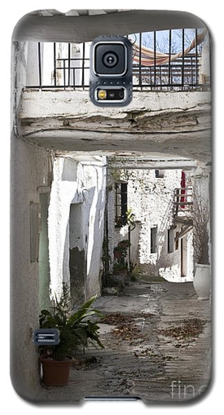 Galaxy S5 Case featuring the photograph Puebla Blanca Capileira by Heiko Koehrer-Wagner