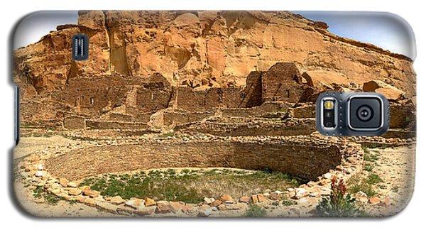 Galaxy S5 Case featuring the photograph Pueblo Bonito Kiva Ruins by Adam Jewell