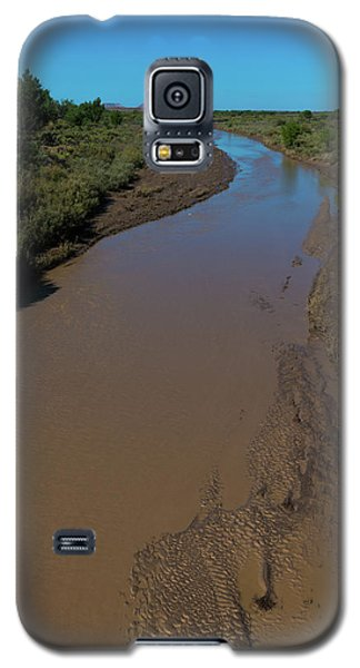 Puerco River Flows Galaxy S5 Case