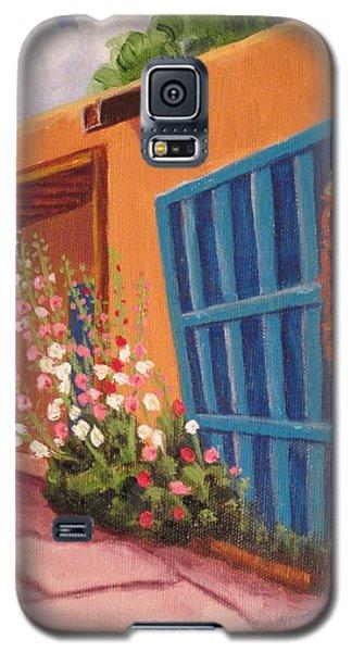 Puerta Azul En Taos Galaxy S5 Case