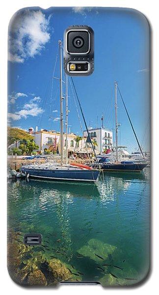 Puerto De Mogan Galaxy S5 Case