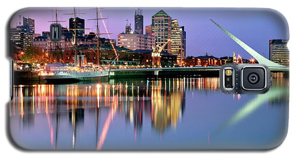 Galaxy S5 Case featuring the photograph Puerto Madero I by Bernardo Galmarini