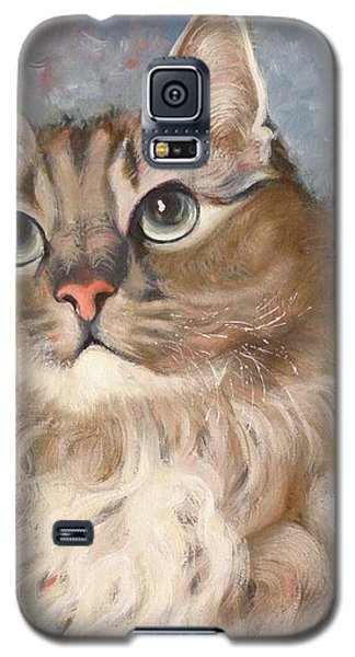 Puff  Ball Galaxy S5 Case