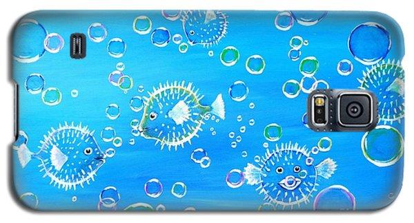 Pufferfish Playtime Galaxy S5 Case