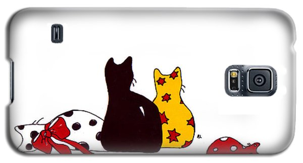 Puffie And Muffie Family Portrait Galaxy S5 Case
