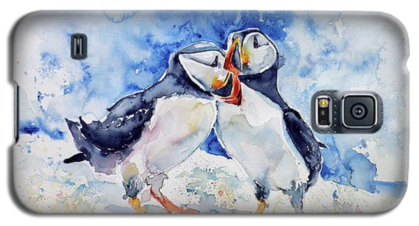 Puffins Galaxy S5 Case by Kovacs Anna Brigitta
