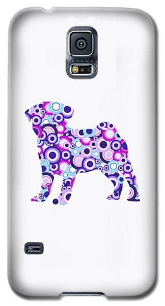 Pug - Animal Art Galaxy S5 Case