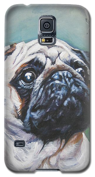 Pug With Butterfly Galaxy S5 Case