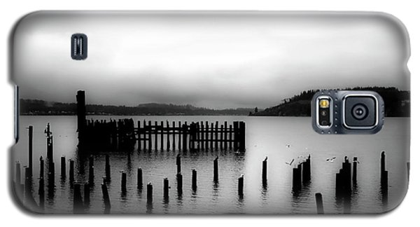 Puget Sound Cold Morning Galaxy S5 Case