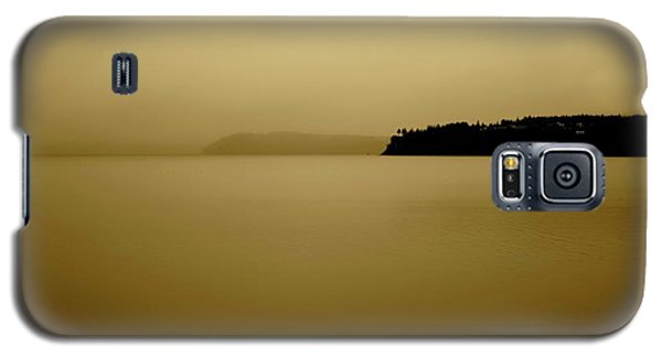 Puget Sound In Sepia Galaxy S5 Case